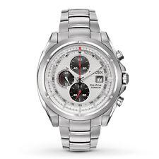 Citizen Eco-Drive Men's CA0550-87A Chronograph Titanium Bracelet Watch