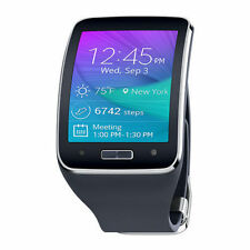 Samsung Galaxy Gear S SM-R750A Charcoal Black Smartwatch Unlocked (GSM Only) New