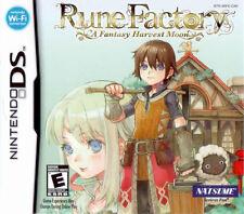 Rune Factory Fantasy Harvest Moon NDS New Nintendo DS, Nintendo DS