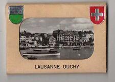 DÉPLIANT TOURISTIQUE TOURISME ALBUM SOUVENIR Lausanne Ouchy Ed. Perrochet