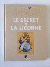 TINTIN LES ARCHIVES - LE SECRET DE LA LICORNE - HERGE - BD EO