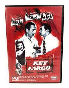 Key Largo (DVD, 1948) Humphrey Bogart Region 4 Free Postage