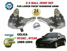 FOR TOYOTA CELICA ST182 ST185 GT4 4WS GTI 1989-> 2X WISHBONE ARM BALL JOINT SET