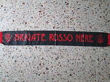 d33 sciarpa MILAN AC nylon brigate football club calcio scarf italia italy
