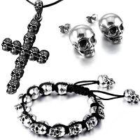 Killernieten Halskette Nieten Kette Gothic Rock Rockabilly Cosplay Kettenglieder