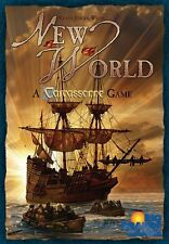 New World: A Carcassonne Game - Rio Grande Games (2008) - NEW - OUT OF PRINT