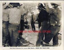 "Bob Steele Near The Trail's End Original 8x10"" Photo M883"