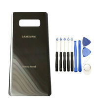Silver Back Glass Housing Cover Battery Door For Samsung Galaxy Note 8