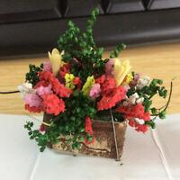 Sn _ 1:12 Mini Clay Bonsaï Fleur Séché Plante Poupée Jardin Décor Cadeau Jouet F