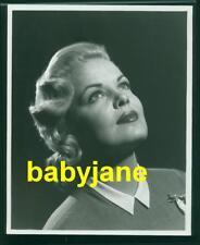 CLEO MOORE VINTAGE 8X10 PHOTO 1950's PORTRAIT