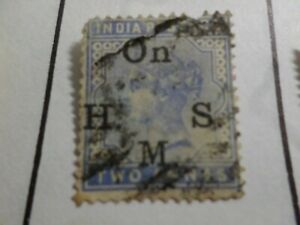 INDE ANGLAISE, timbre de SERVICE 32 oblitéré, VF used stamp