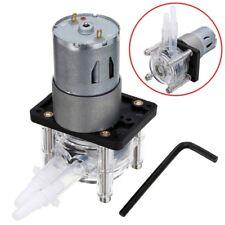12V DCMotor Dosierpumpe Schlauchpumpe Peristaltik Pump Wasserpumpe LaborwasserDE