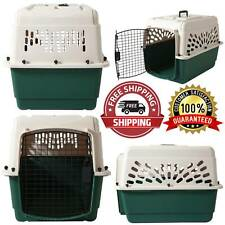 "Metal Door Ruffmaxx Kennel Cage 28"" 25-30lbs Dog Carrier Portable Transport"