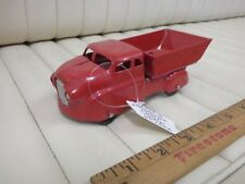 1939-41 WYANDOTTE Dump Truck Pressed Steel Toy 6""