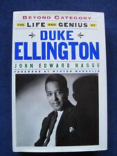 Biography of Jazz Legend DUKE ELLINGTON - SIGNED by the Author