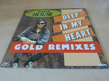 CLUB HOUSE - DEEP ON MY HEART - GOLD MIXES !!!!!!!! !RARE MAXI 45 TOURS / 12""