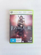 Microsoft Xbox 360 - Fable II 2 - Complete with Manual Free Postage