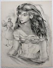 Lithographie originale de Mariette LYDIS (1894-1970) signée au crayon