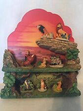 The Lion King Thimble Collection by Lenox, 8 Pc. w/ Shelf Beautiful Set