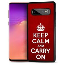 ( For Samsung Galaxy S10 4G ) Back Case Cover AJ12078 Keep Calm Carry On