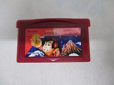 GBA -- Ganbare Goemon! Karakuri -- Can data save! Game Boy Advance, JAPAN. 40810