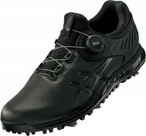 ASICS Golf Soft Spike Shoes GEL-ACE PRO5 BOA 1111A180 Black Black With Tracking