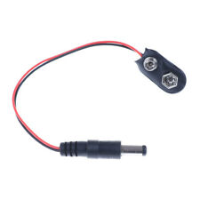 1PCS 9V DC Battery Power Cable Plug Clip barrel jack connector for Arduino DSUK