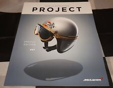 OFFICIAL McLAREN PROJECT MAGAZINE EDITION ISSUE 01 1 2015 P1 F1 675 650 BROCHURE