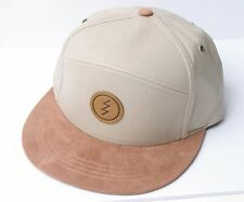 Electric Visual Snapback Hat (Tan)