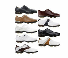 New Footjoy Icon Black Golf Shoes - Manufacturer Discontinued Model