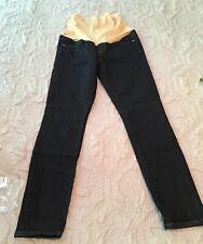 NEW Ann Taylor LOFT Maternity Sz 4 Skinny Dark Rinse Jeans