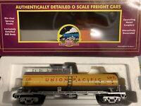 ✅MTH PREMIER DIE CAST UNION PACIFIC FUEL TANK CAR!  DIESEL ENGINE