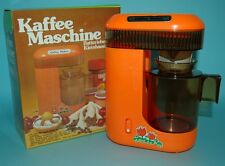 1970 VINTAGE COFFEE MAKER BATTERY OPERATED MAXWELL BOXED HONG KONG