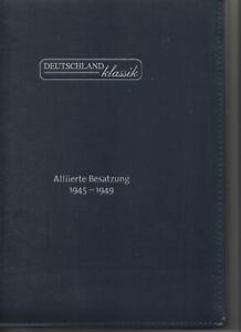 SBZ Alliierte Besatzung 1945-1949 postfrisch im Deutschland Klassik Ringordner