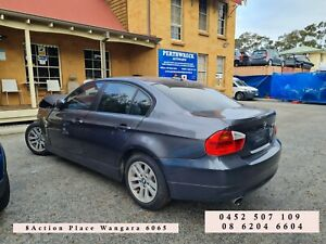 BMW 320i E90 Grey 2008 Wrecking parts, panel, gearbox etc for sale