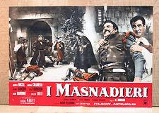 MASNADIERI fotobusta poster Debra Paget Daniella Rocca Cifariello Lulli BS21