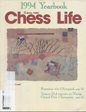 Chess Life Magazine: Six Issues from 1995! Intel Grand Prix Botvinnik Olymp L10