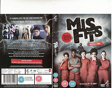 Mis Fits-2009/13-TV Series UK-Series Two-2 Disc 329 Minutes-DVD