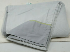 Room Essentials Twin XL Flat Sheet in Gray 64 in W x 102 in L