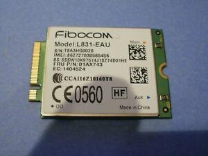 Lenovo ThinkPad X270 Fibocom L831-EAU 4G LTE WWAN CARD FRU PN: 01AX743
