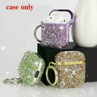 1 x Luxus Glitter Diamond Case For Apple AirPods Pro 1 AirPods Cover Bling Y7D7