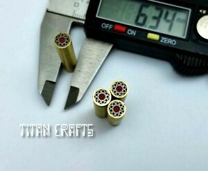 """TITANs 6.3mm Mosaic Pin X1 for Handle Making Knife Scales Sticks Crafts 1"""" MP1-N"""