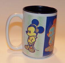Mickey Mouse Disney Mug Coffee Cup Wonderground Gallery Multi-Color Negative