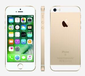 NEW GOLD VERIZON GSM UNLOCKED 32GB APPLE IPHONE SE SMART PHONE JM47 B