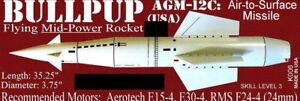 The Launch Pad Plan Pack Series BULLPUP AGM 12-C (USA) FREE SHIPPING