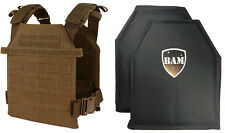 Level IIIA 3A | Body Armor Inserts | Bullet Proof Vest | Condor Sentry Vest -COY