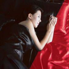 Parures et housses de couette rouge modernes pour Drap