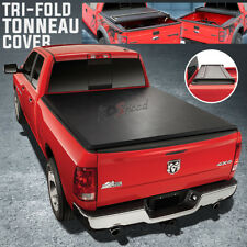 Pickup Trunk Soft Tri-Fold Tonneau Cover for 04-14 Ford F150 5.5'Bed Fleetside