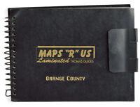 Vintage Maps R Us Thomas Guide Orange County California Laminated 1998 Edition