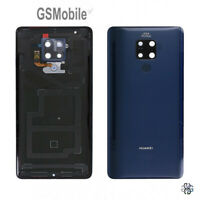Tapa Back Cover Sensor Huella Fingerprint Azul Huawei Mate 20 X EVR-L29 ORIGINAL